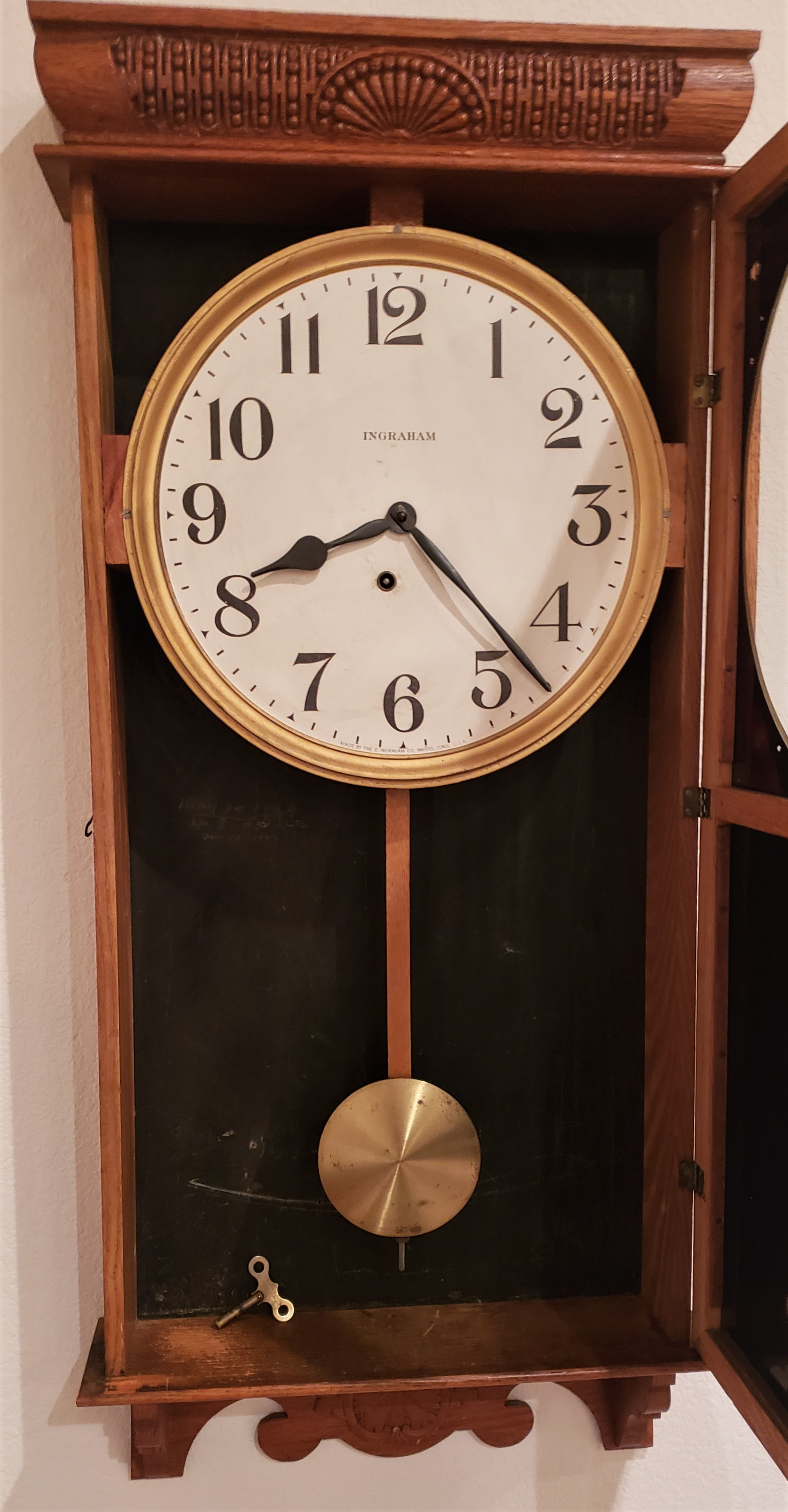 Calumet Advertising Clock from 1910 – $500 – SOLD   Timely Antiques